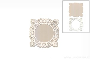 DECORATIVE ELEMENT 10.5X10.5CM DECO-40G MARCO OVAL