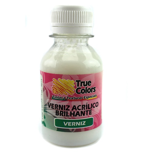 Verniz Acrilico Brilhante True Colors 100ml