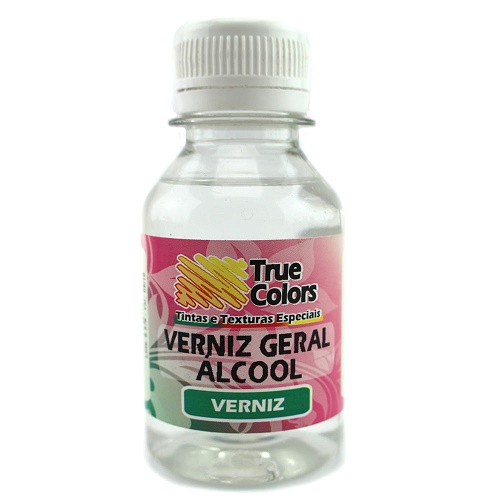 Verniz Geral Alcool True Colors 100ml